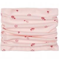 Schlauchschal mit Waldmotiv rosa