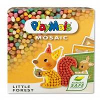 Mosaic - Waldfreunde - 6 bedruckte Karten zum bekleben