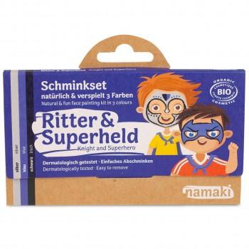 Bio Kinderschminke Ritter & Superheld 3 Farben