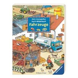 XXL Mein riesengroßes Such-Bilderbuch: Fahrzeuge