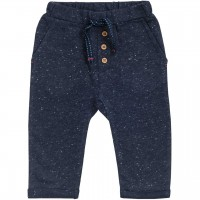 Sweat Babyhose in dunkelblau mélange