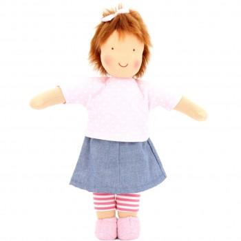 Bio Puppe zum Ankleiden 38 cm - Emma