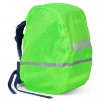 Regenschutz für alle ergobag Schulranzen grün