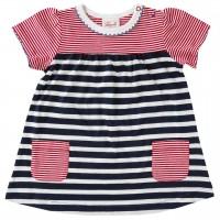 Baby Kleid Sommer navy gestreift
