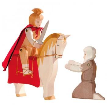 St. Martin, Pferd und Bettler im Set