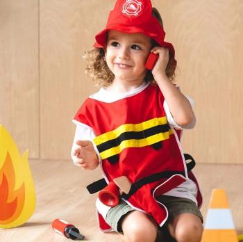 Kinder Feuerwehr Set – Rollenspiel ab 3 Jahren