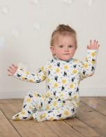 Vorschau: Bio Babystrampler mit Fuss im günstigeren 2er Pack - neutral
