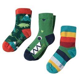 Socken 3er Pack - 3 Dino Designs