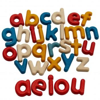 Holzbuchstaben ab 2 Jahren – Kleinbuchstaben