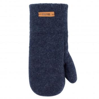Jeans-blaue Kinder Handschuhe Wolle
