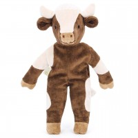 Bio Stofftier Kuh 30 cm