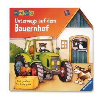 Unterwegs auf dem Bauernhof - Klappenbuch
