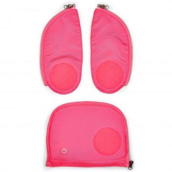 Sicherheitsset mit LED Lichtern (pink)