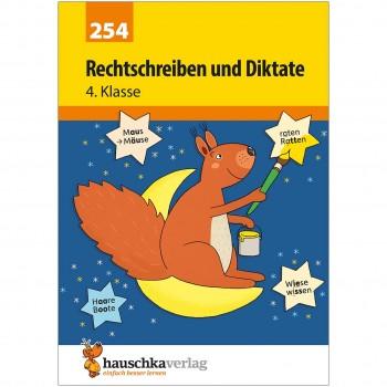 Deutsch Rechtschreibung und Diktate 4. Klasse Übungsheft