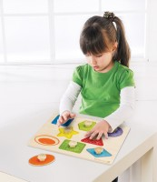 Vorschau: Formenpuzzle - kindgerecht & robust