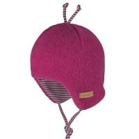 Bio Baby Wintermütze Woll Fleece pink