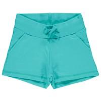 Sweat Shorts Mädchen - cool, sommerlich robust türkis