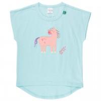 Mädchen T-Shirt weiter Arm Pferd