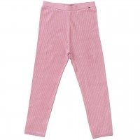 Mädchen Leggings Rippoptik in rosa