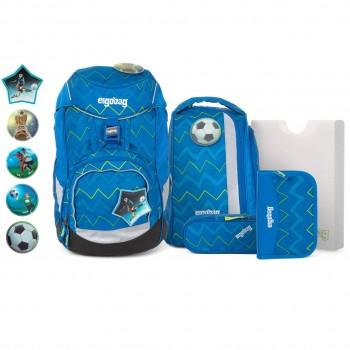 Schulrucksack pack flexibel LiBäro 2:0 Fussball 6 tlg
