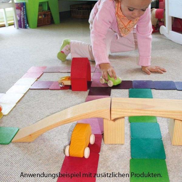 Holzdeckel 40 Teile für Häuschen und Etagen ab 3 Jahren