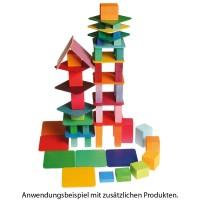 Vorschau: Holzdeckel 40 Teile für Häuschen und Etagen ab 3 Jahren