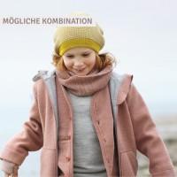 Vorschau: Wolle Schlauchschal rosa gross 8-99 Jahre