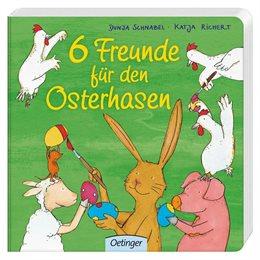 Osterbuch 6 Freunde für den Osterhasen
