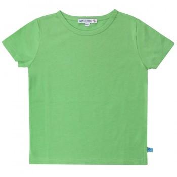 Grünes Basic Shirt uni