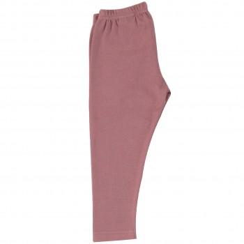 Dehnbare lange Leggings rosa
