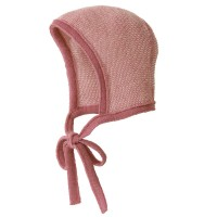 disana Babymütze atmungsaktiv Merinowolle rosa