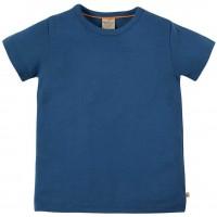 T-Shirt uni hochwertig in marine