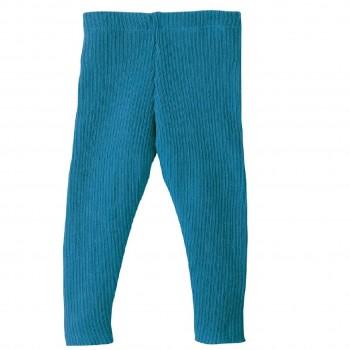 Woll Leggings blau warm und mitwachsend
