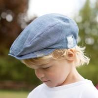 Cooles Jungen Jeans Capi Mütze GOTS von pure pure