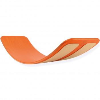 Flexibles Balanceboard mit Kork ab 3 Jahren - rot