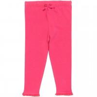 Leggings mit Rüschen in pink