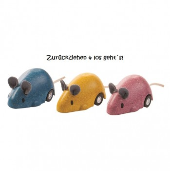 "Aufziehautos ""Mäuseflitzer"" 3er Pack"