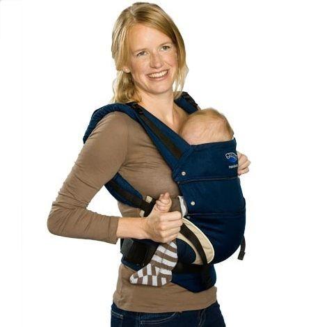 Tragehilfe ab Geburt mit Rückenverlängerung