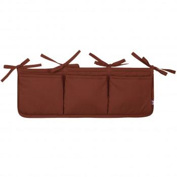 Bett-Aufbewahrungs-Box in braun
