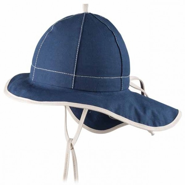 Sommermütze Nackenschutz UV 80 Schutz blau