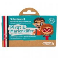 Bio Kinderschminke Pirat & Marienkäfer 3 Farben