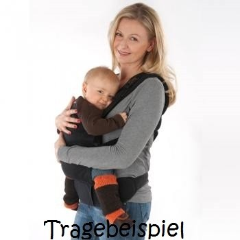 Arm- & Beinstulpen auch für Babytragen grün blau