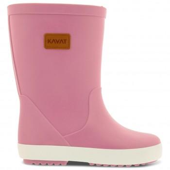 Weiche Regenstiefel mit Profil rosa