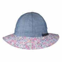 Mädchen Hut mit breiter Sonnen Krempe - jeans