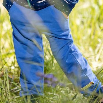 Leichte Sweat Jogginghose blau