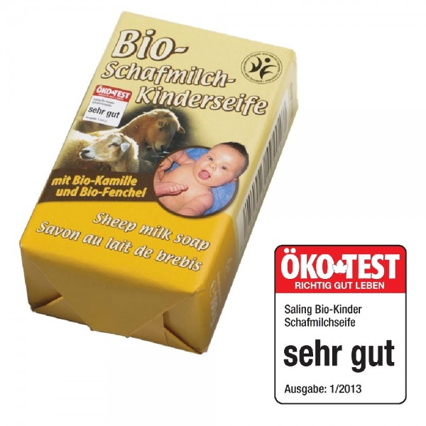 BIO Kinderseife aus hochwertiger Schafsmilch