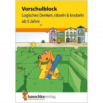 """Vorschulblock """"Logisches Denken"""" ab 5 Jahre"""