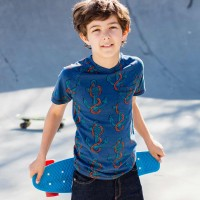 Anker Shirt V-Ausschnitt dunkelblau