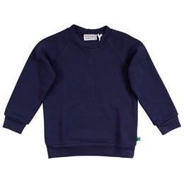 Sportlicher Sweat Pullover navy