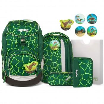 Schulrucksack pack flexibel BärRex Dino 6tlg
